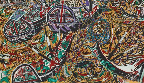 中国现代民间绘画――舟山渔民画展