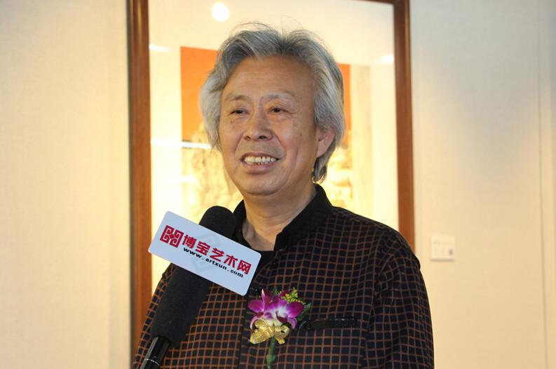"""""""景色""""―中国当代工笔画名家邀请展在博宝美术馆举行"""