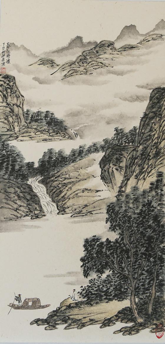 画家张峥嵘作品赏析