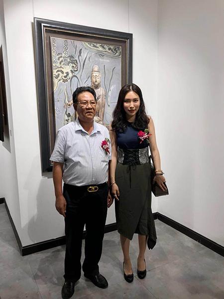"""米巧铭油画作品展""""妙观""""亮相珠海环球艺术中心"""