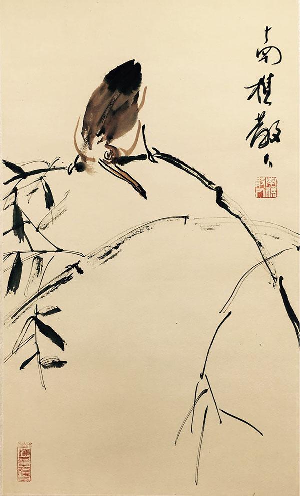 第21届北京艺术博览会开幕 南樵散人作品成为展会亮点