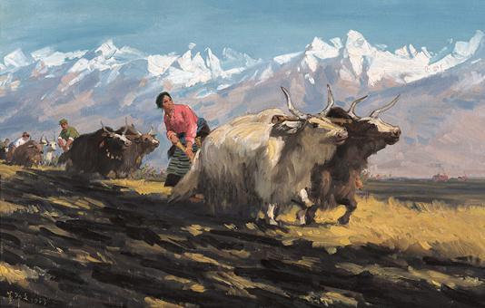 伟大历程壮丽画卷——庆祝新中国成立70周年美术作品展